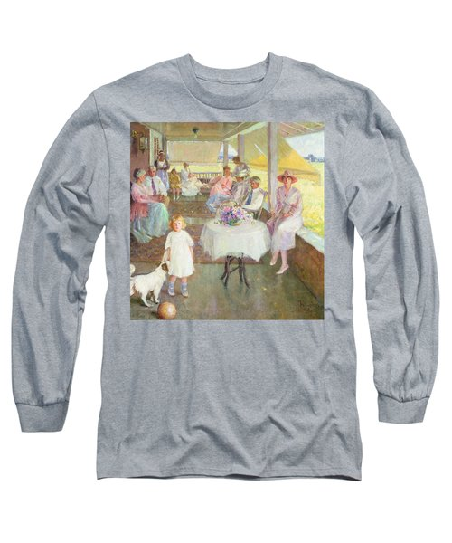 Family Gathering, 1919 Long Sleeve T-Shirt