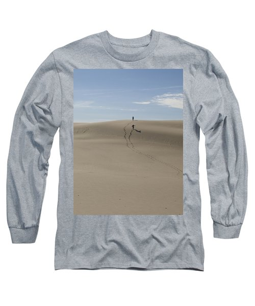 Long Sleeve T-Shirt featuring the photograph Far Away In The Sand by Tara Lynn