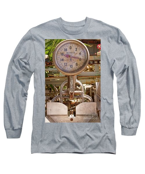 Long Sleeve T-Shirt featuring the photograph Farm Scale by Kerri Mortenson