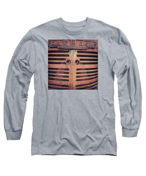 Long Sleeve T-Shirt featuring the photograph Farmall by Rebecca Davis