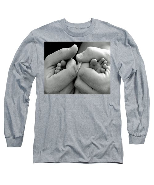 Father And Son Long Sleeve T-Shirt by Lisa Phillips