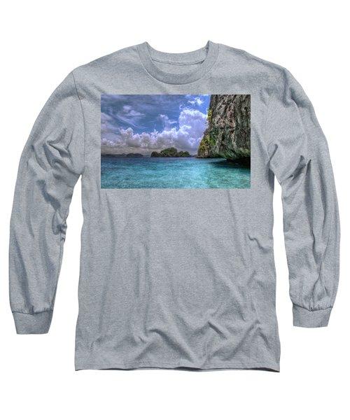 Favorite Color Blue Long Sleeve T-Shirt