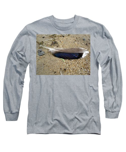 Feather And Inchworm Long Sleeve T-Shirt