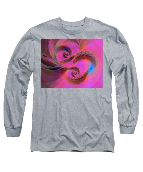 Feathers In The Wind Long Sleeve T-Shirt