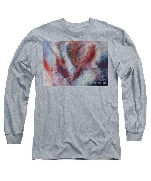 Feelings Of Love Long Sleeve T-Shirt by Valerie Travers