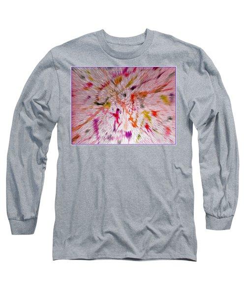 Festival Of Colours Long Sleeve T-Shirt by Sonali Gangane