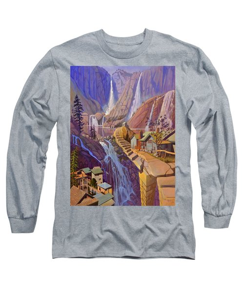 Fibonacci Stairs Long Sleeve T-Shirt
