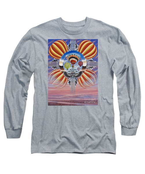 Fiesta De Colores Long Sleeve T-Shirt