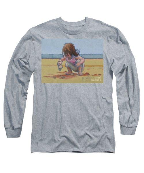 Finding A Shell Long Sleeve T-Shirt