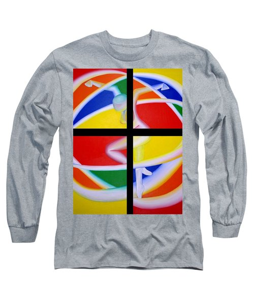Firedancer Long Sleeve T-Shirt by Joshua Morton