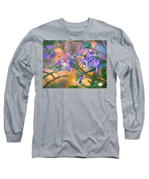 Fireweed Number Three Long Sleeve T-Shirt by Brian Boyle