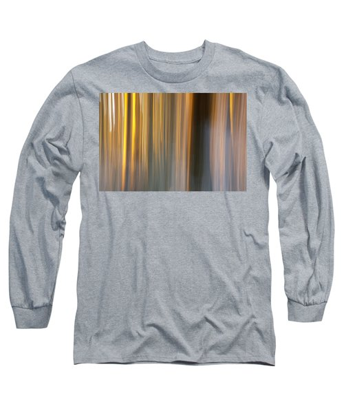 Long Sleeve T-Shirt featuring the photograph First Snow In Sunset by Davorin Mance