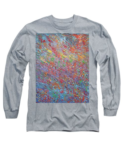 Fish To The Top Long Sleeve T-Shirt by George Riney