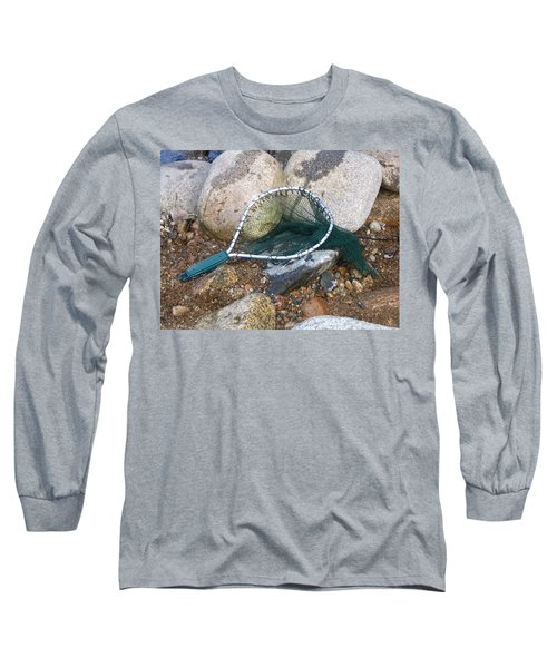 Fishing Net Long Sleeve T-Shirt