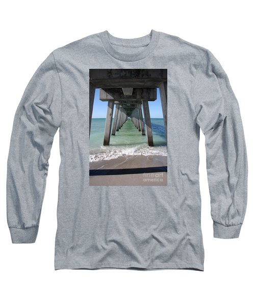 Fishing Pier Architecture Long Sleeve T-Shirt