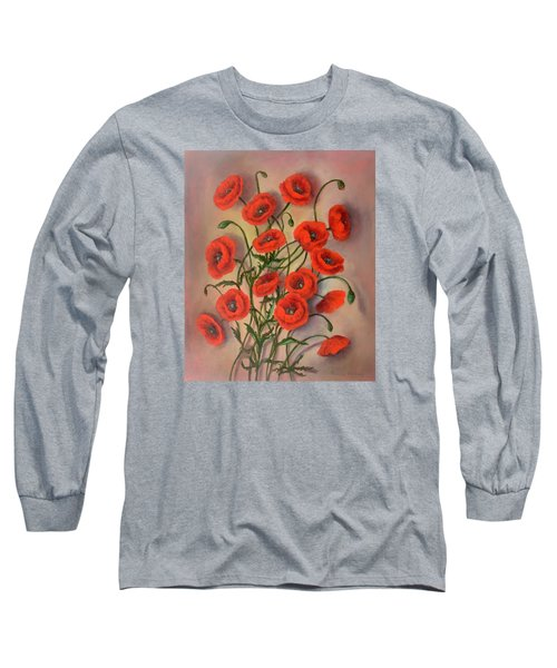 Flander's Poppies Long Sleeve T-Shirt
