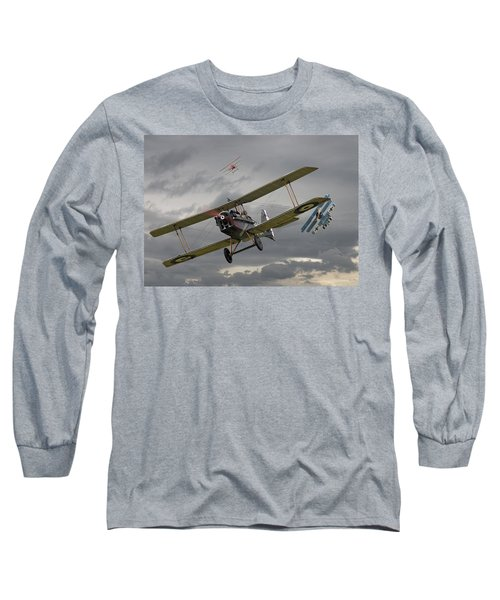 Flander's Skies Long Sleeve T-Shirt by Pat Speirs