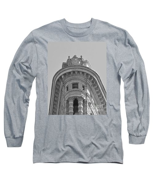 Flatiron Detail Long Sleeve T-Shirt