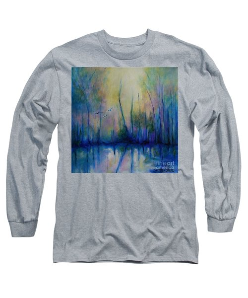 Flight In Morning Symphony Long Sleeve T-Shirt