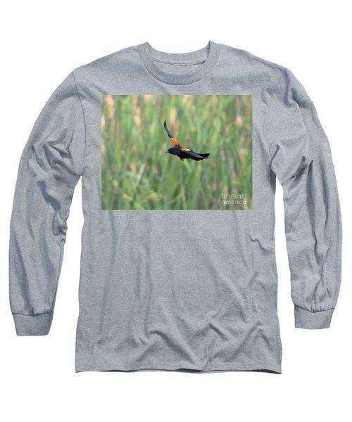 Flight Of The Blackbird Long Sleeve T-Shirt