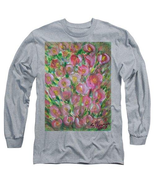 Floral Burst Long Sleeve T-Shirt