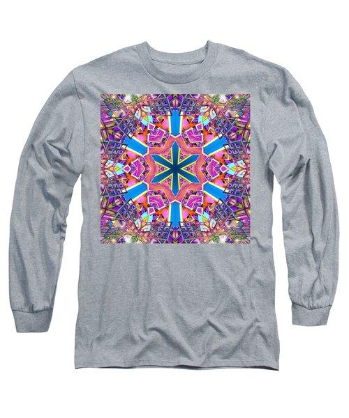 Floral Dreamscape Long Sleeve T-Shirt