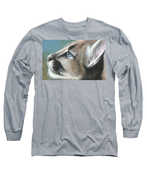 Long Sleeve T-Shirt featuring the painting Florida Princess by Mike Brown