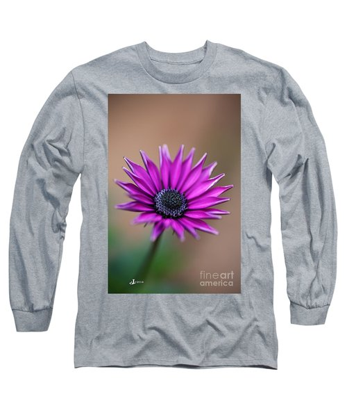 Flower-daisy-purple Long Sleeve T-Shirt