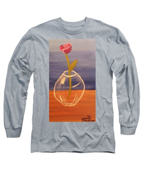Flower In Vase Long Sleeve T-Shirt