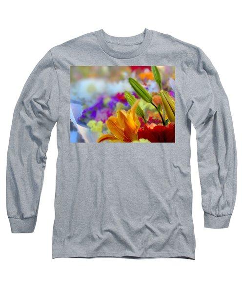 Flower Market 1 Long Sleeve T-Shirt