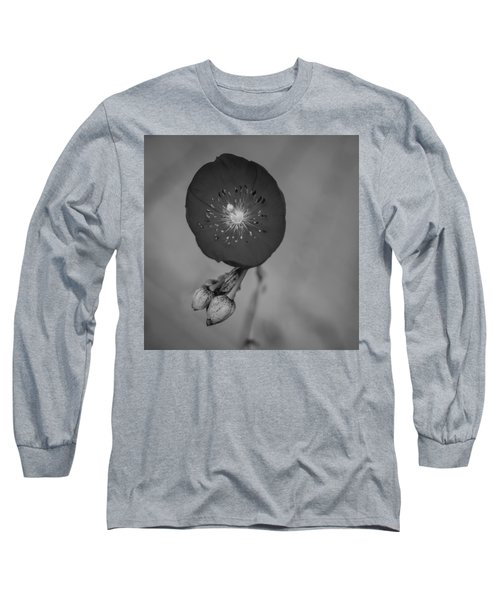 Long Sleeve T-Shirt featuring the photograph Flower Unknown by Ron White