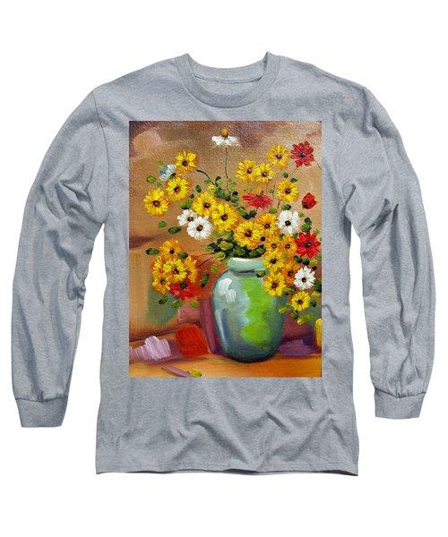 Flowers - Still Life Long Sleeve T-Shirt