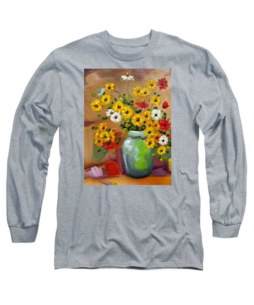 Flowers - Still Life Long Sleeve T-Shirt