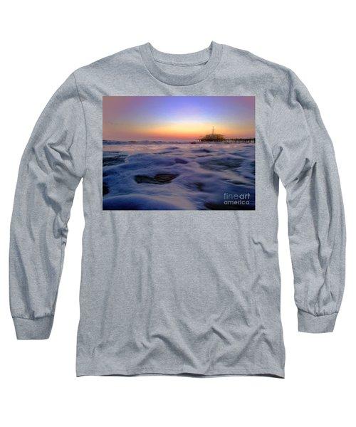 Foamy Sea Long Sleeve T-Shirt