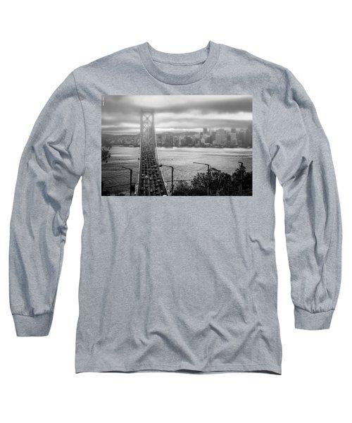 Foggy City Of San Francisco Long Sleeve T-Shirt
