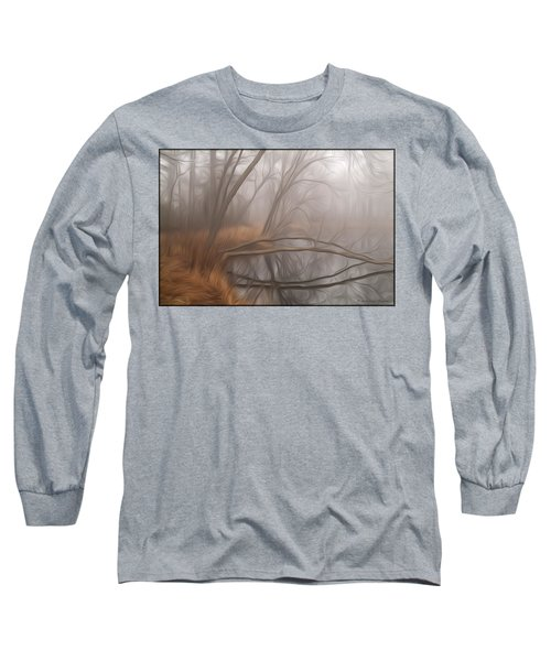 Foggy Fall Morning Long Sleeve T-Shirt