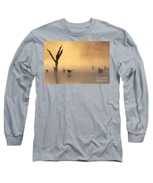 Foggy Landing Long Sleeve T-Shirt