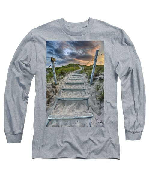 Long Sleeve T-Shirt featuring the photograph Follow The Path by Sebastian Musial