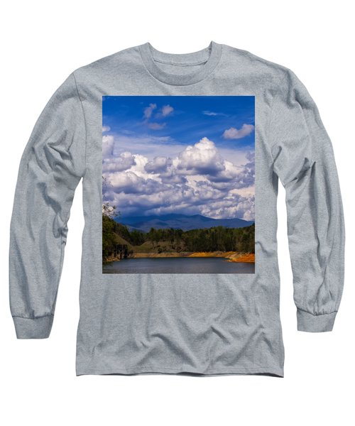 Fontana Lake Storm 2 Long Sleeve T-Shirt by Chris Flees
