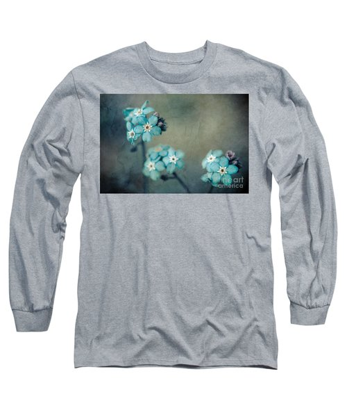 Forget Me Not 01 - S22dt06 Long Sleeve T-Shirt by Variance Collections