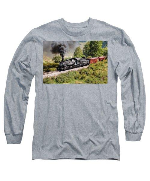 Four Percent Grade Part 1 Long Sleeve T-Shirt