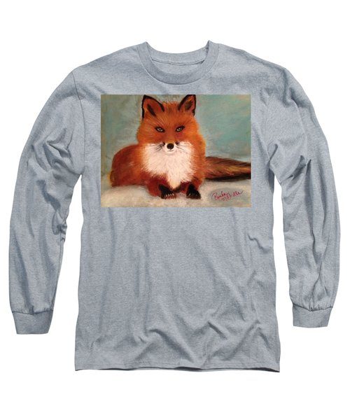 Fox In The Snow Long Sleeve T-Shirt