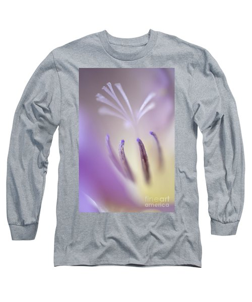 Fragrant Freesia  Long Sleeve T-Shirt by Deb Halloran