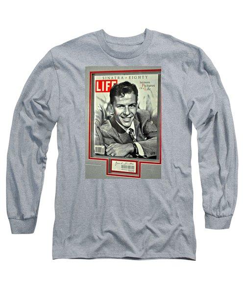 Frank Sinatra Life Cover Long Sleeve T-Shirt