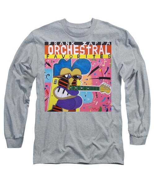 Frank Zappa Orchestral Favorites Long Sleeve T-Shirt