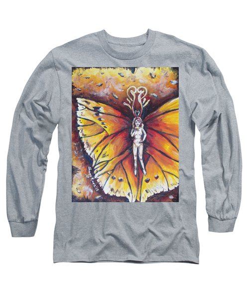 Free As The Flame Long Sleeve T-Shirt