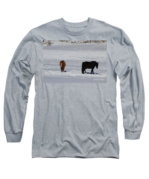 Free Spirits Long Sleeve T-Shirt by Fiona Kennard