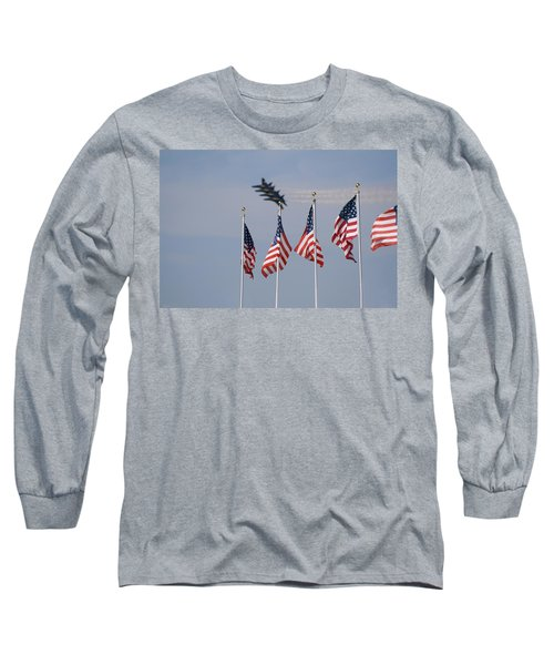 Freedom Flying Long Sleeve T-Shirt