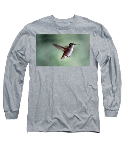 Freedom - Pillow Format Long Sleeve T-Shirt by Rory Sagner