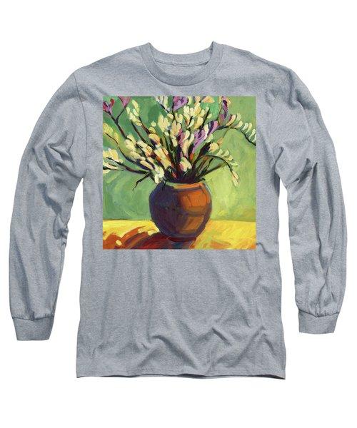 Freesias Long Sleeve T-Shirt
